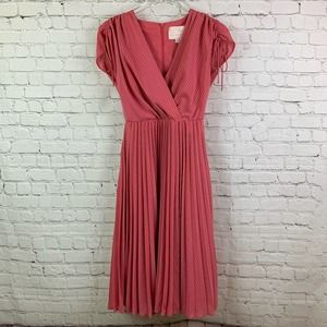 Gal Meets Glam Angelica Pleated Dress Size 0